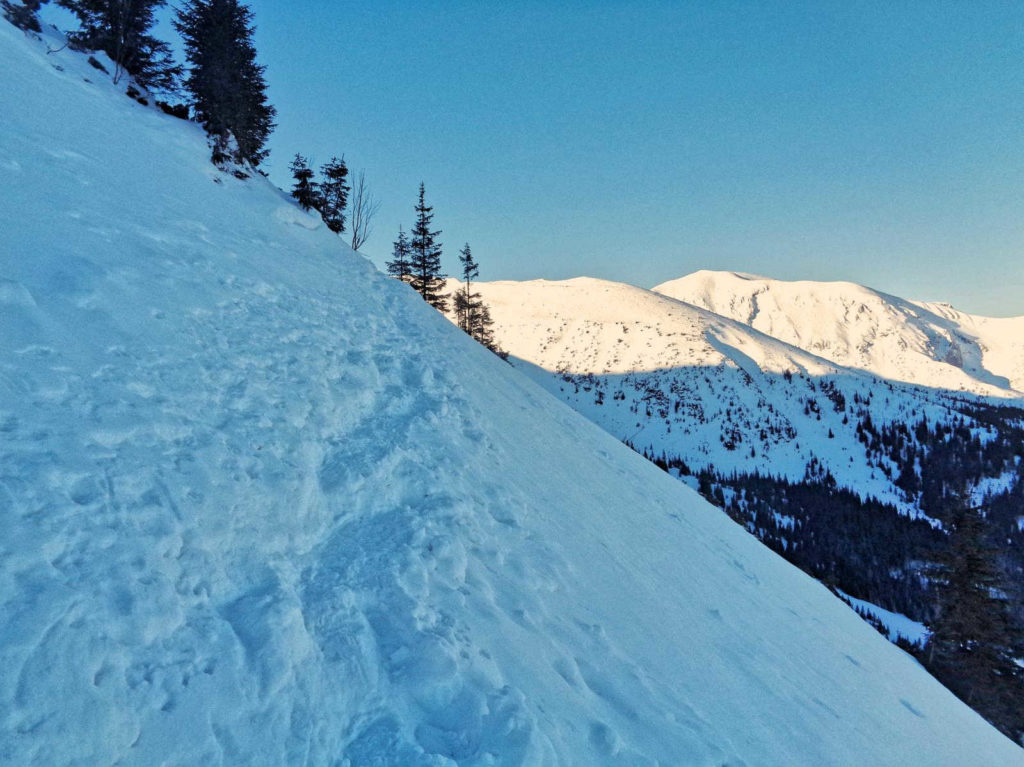 Kasprowy Wierch, zimowe trudności