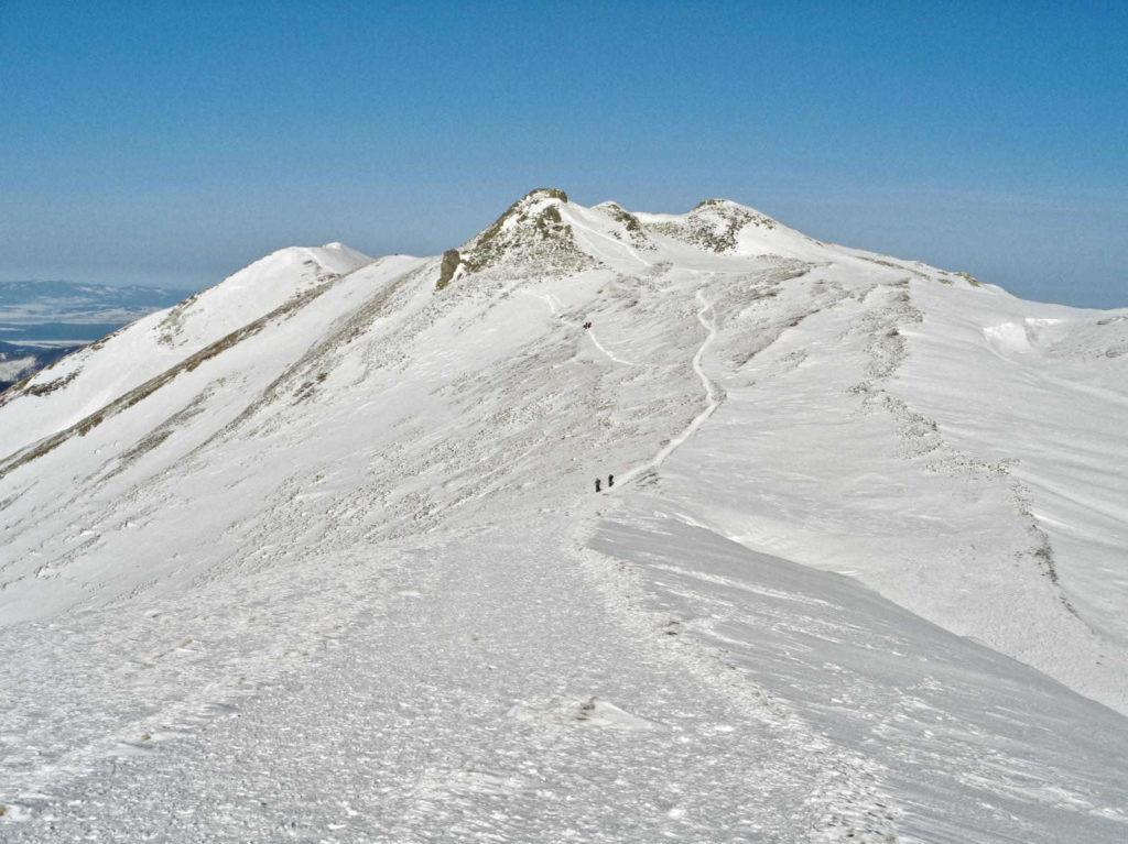 Zimowy szlak przez Ornak