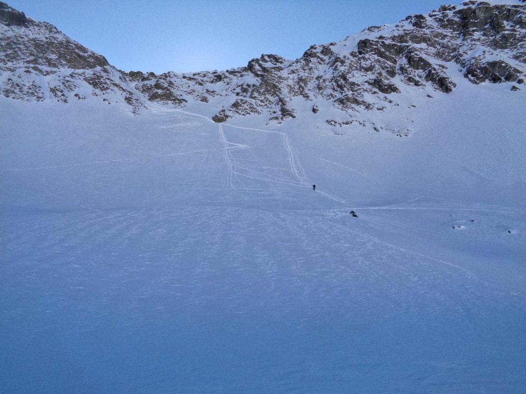Coraz bliżej podejścia na przełęcz