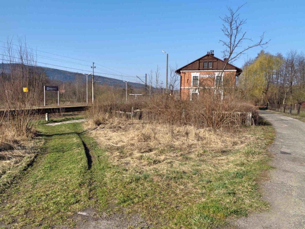 Dworzec kolejowy w Kleczy Górnej
