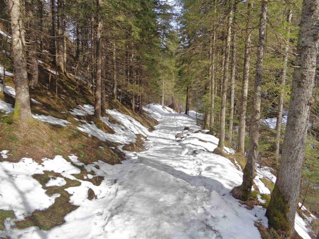 Dolina Białego w zimie