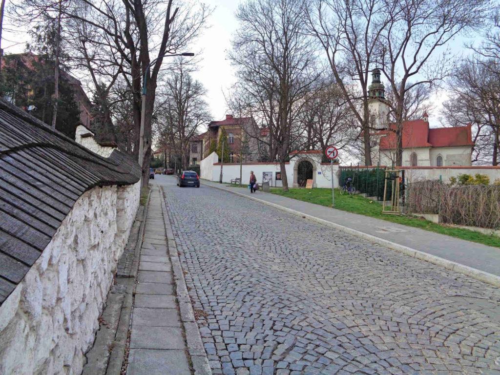 Salwator, ulica Św. Bronisławy