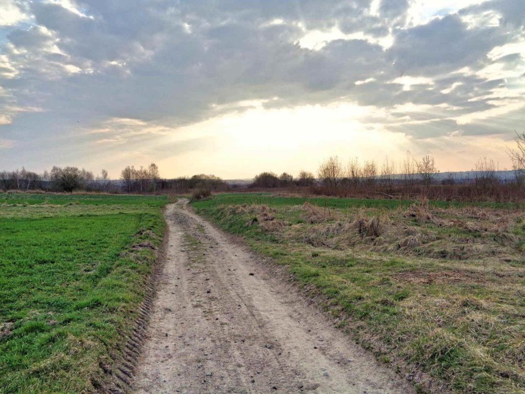Szlak Dwóch Kopców, okolice Kryspinowa