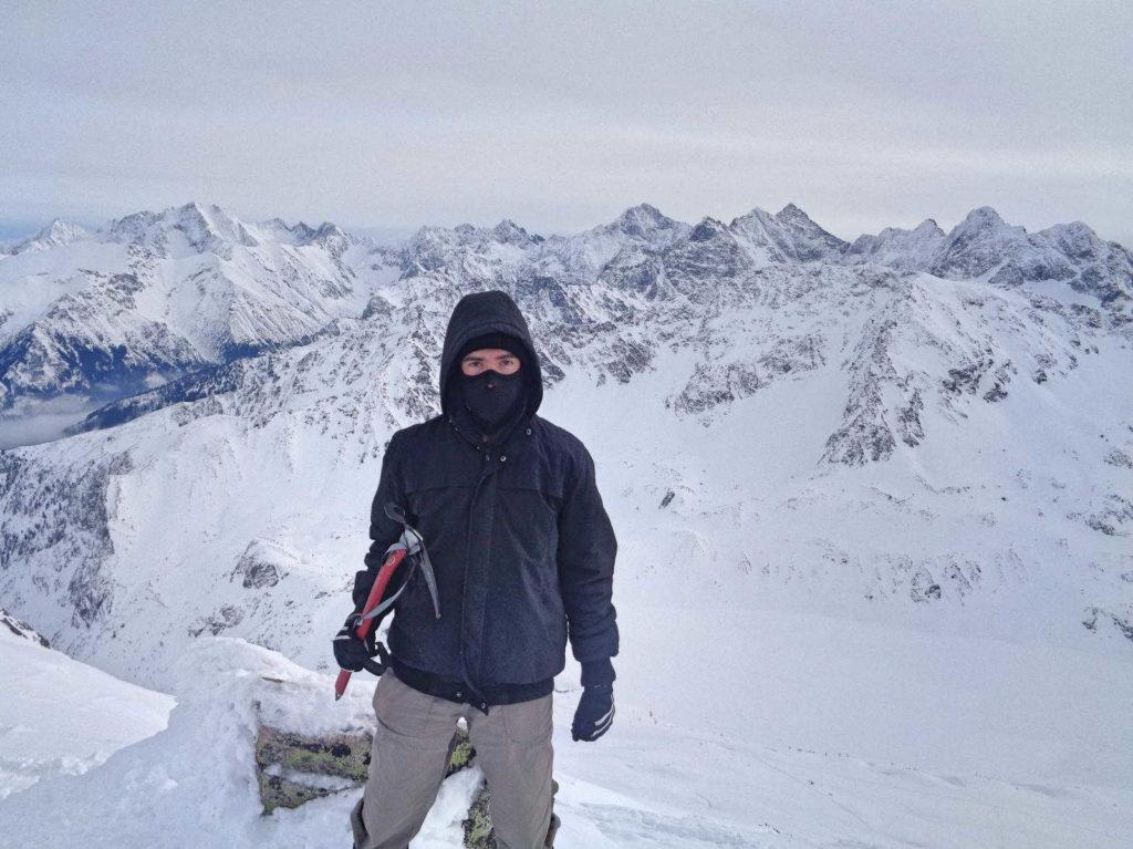 Kozi Wierch zimą