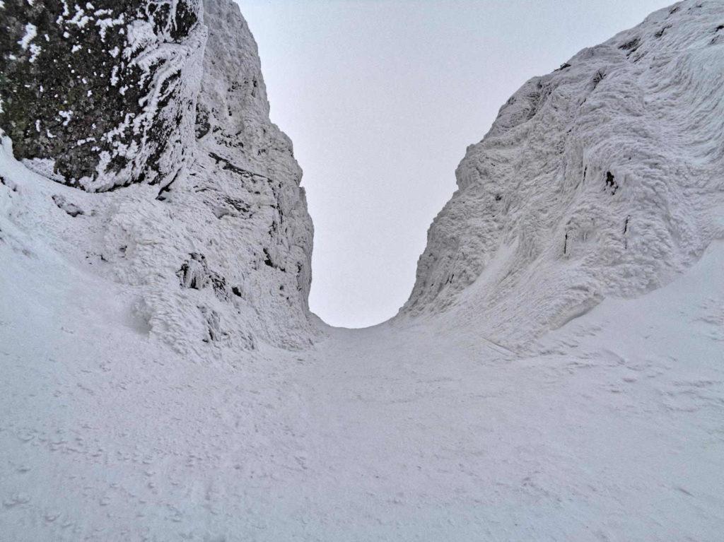 Kozia Przełęcz zimą
