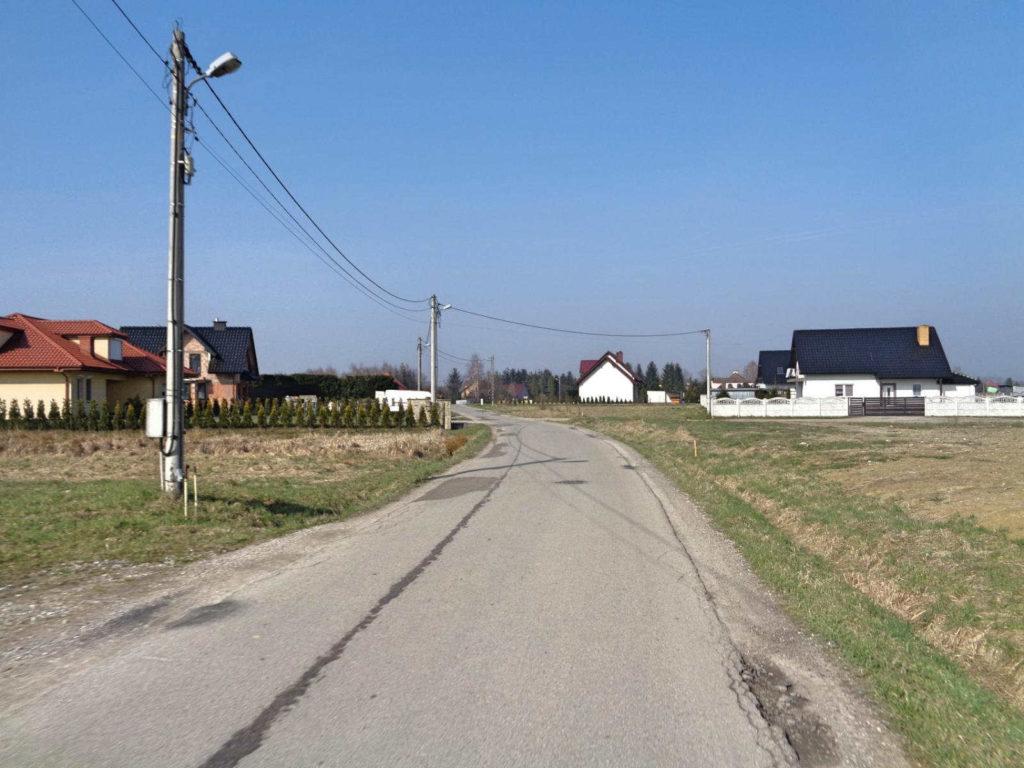 WTR pomiędzy miejscowościami Ochodza i Facimiech