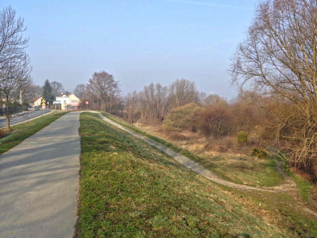 WTR w Krakowie, objazd drogą publiczną