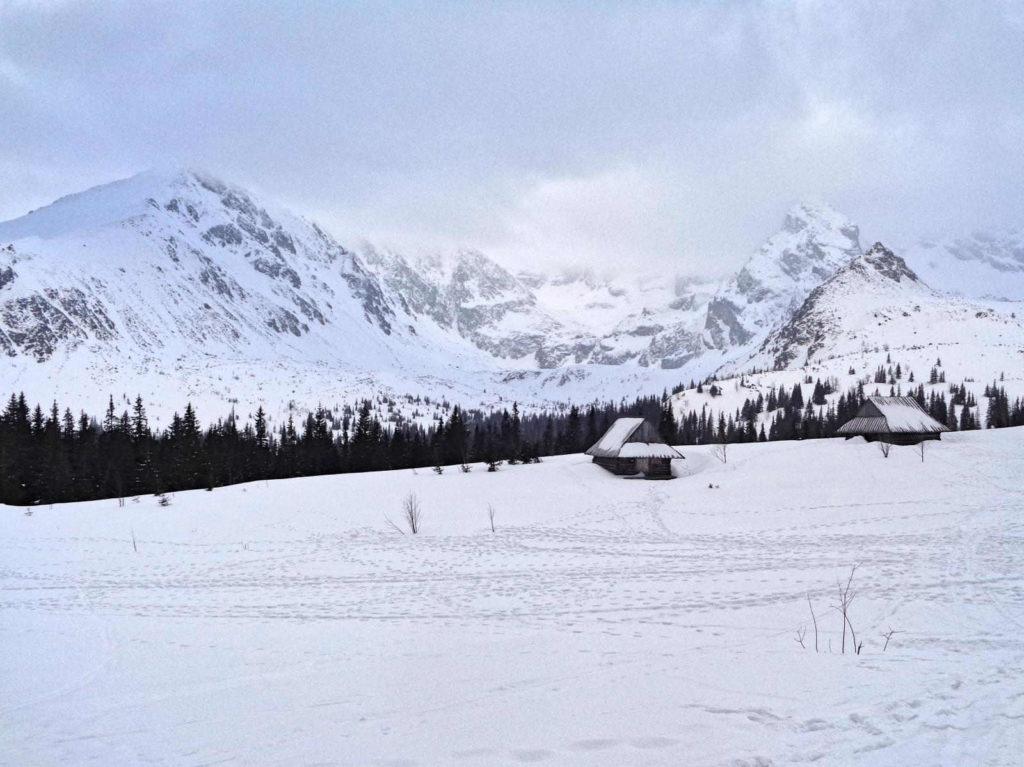 Zima na Hali Gąsienicowej
