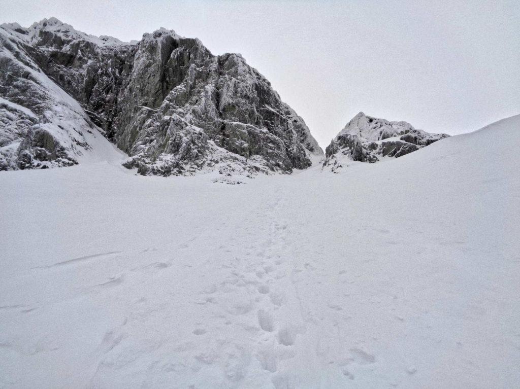 Podejście na Kozią Przełęcz