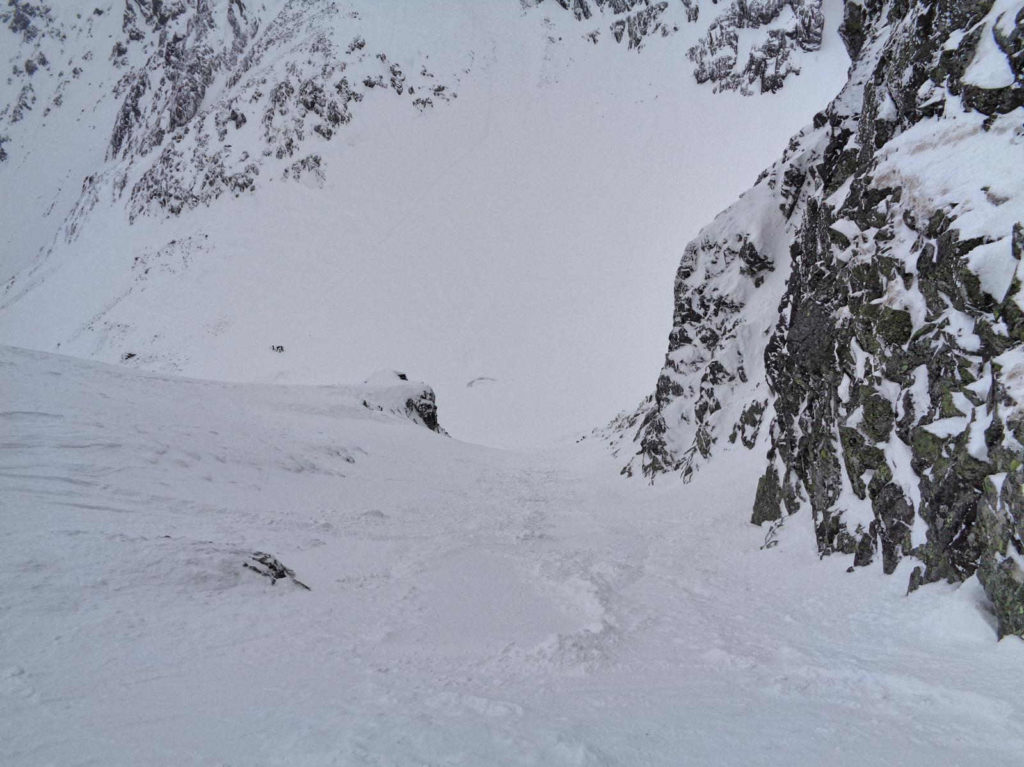 Zejście z Koziej Przełęczy