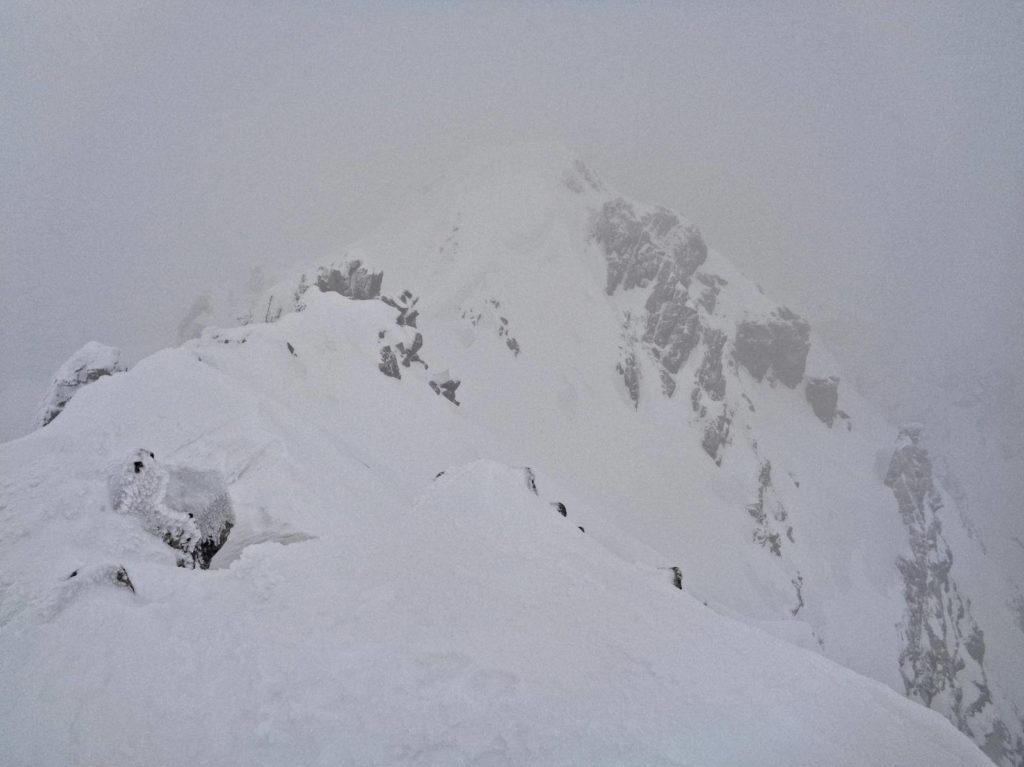 Zadni Granat, widoki ze szczytu