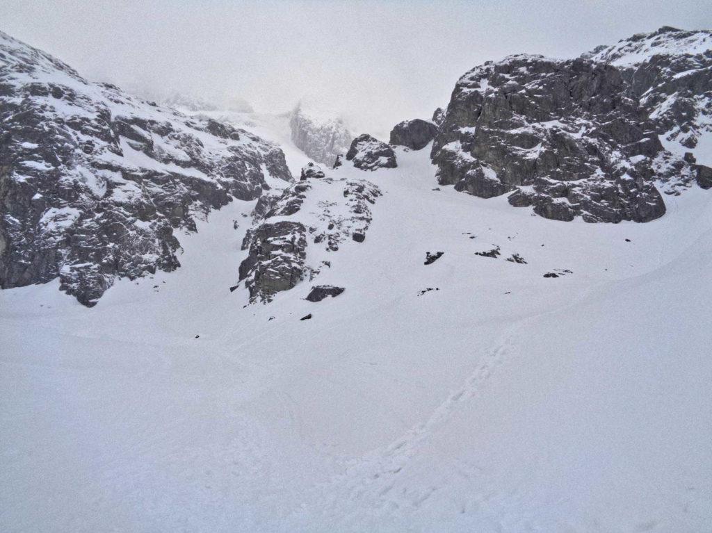 Zimowa trasa na Zawrat