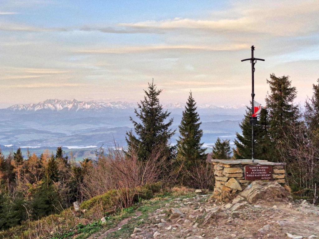 Tatry widziane z Lubania