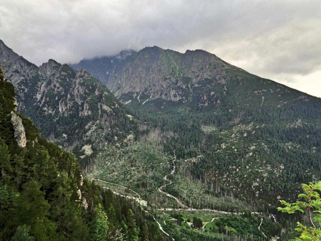 Dolina Staroleśna - szlaki