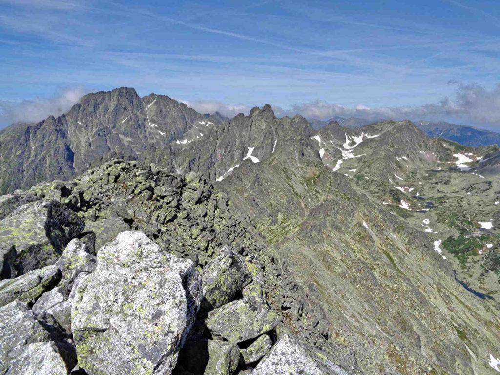 Sławkowski Szczyt - widoki ze szczytu