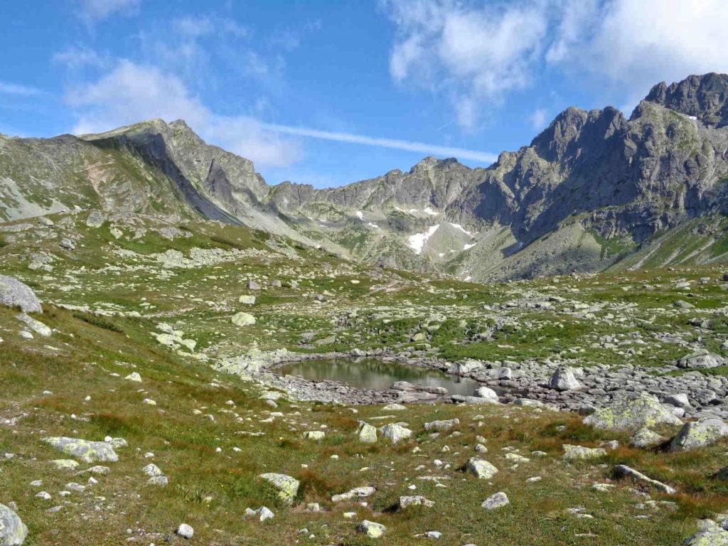 Dolina Mięguszowiecka, stawy