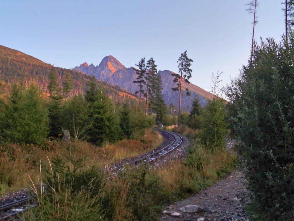 Szlak na Hrebienok