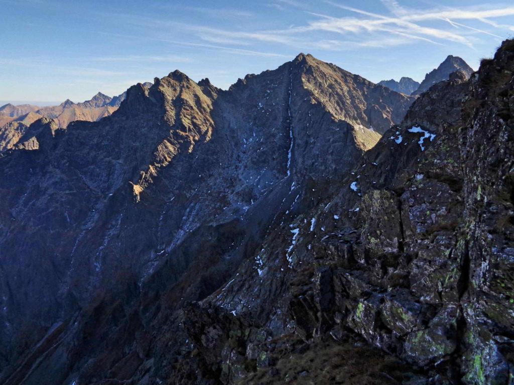 Czarnostawiańska Przełęcz, widoki