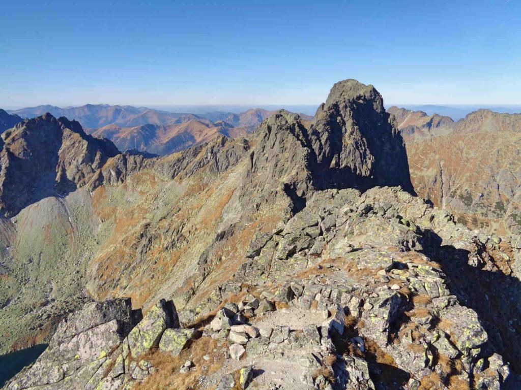 Czarny Mięgusz, widoki ze szczytu