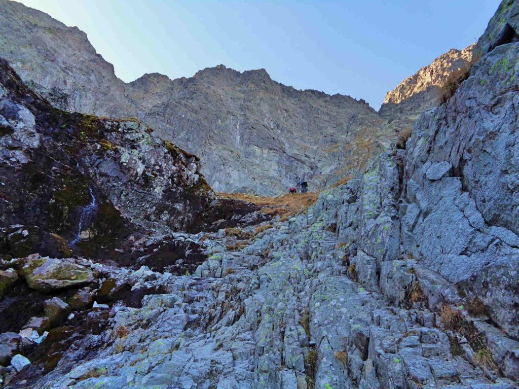 Przełęcz pod Chłopkiem, zielony szlak