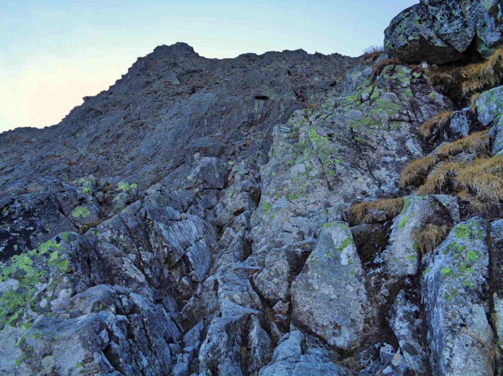 Szlak na Mięguszowiecką Przełęcz