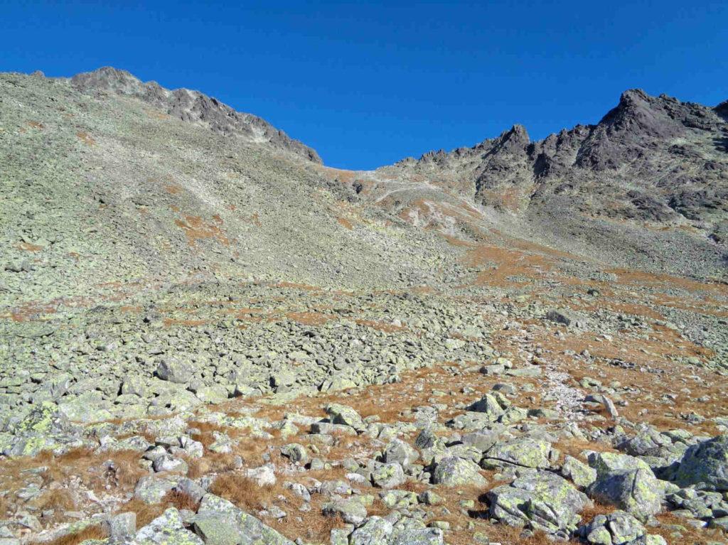 Lodowa Przełęcz od Doliny Jaworowej