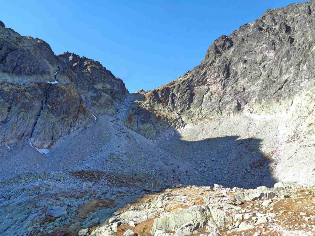 Szlak na Lodową Przełęcz
