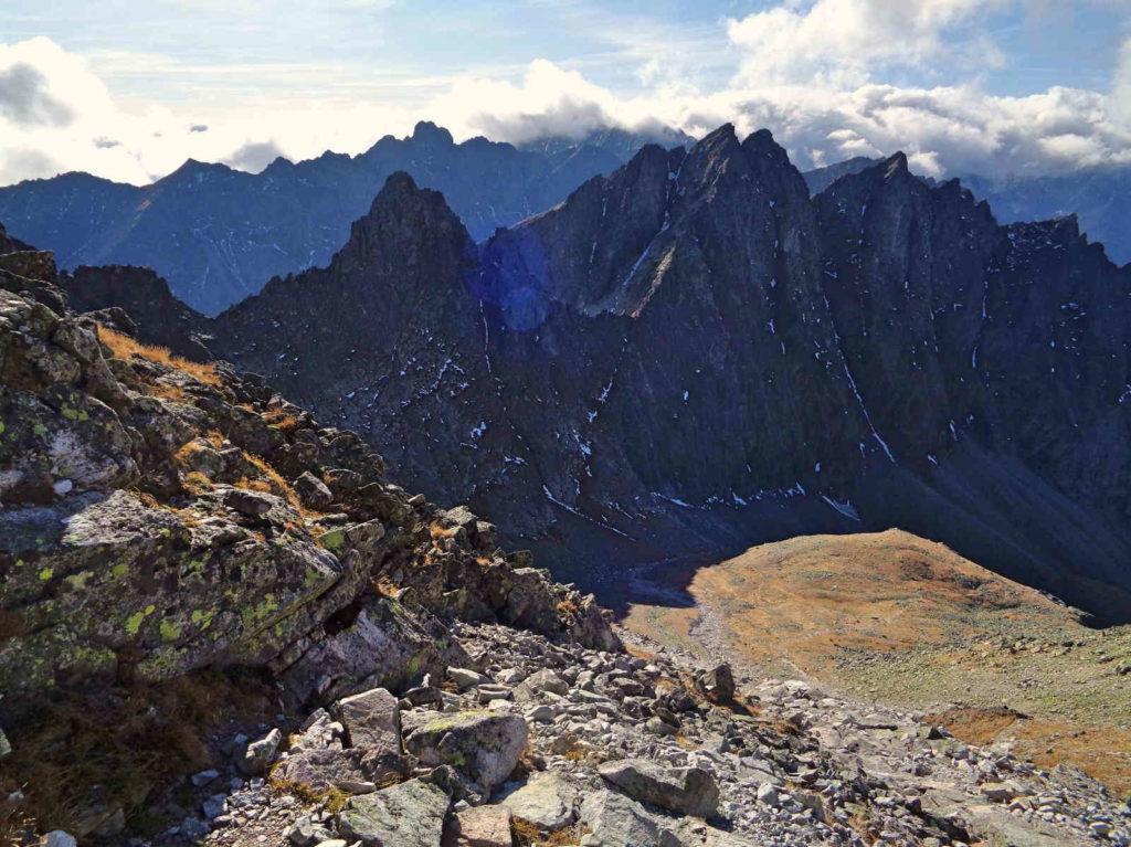 Widoki z Lodowej Przełęczy
