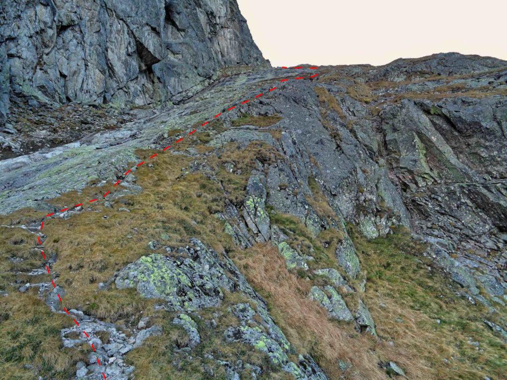 Droga na Kościelcową Przełęcz