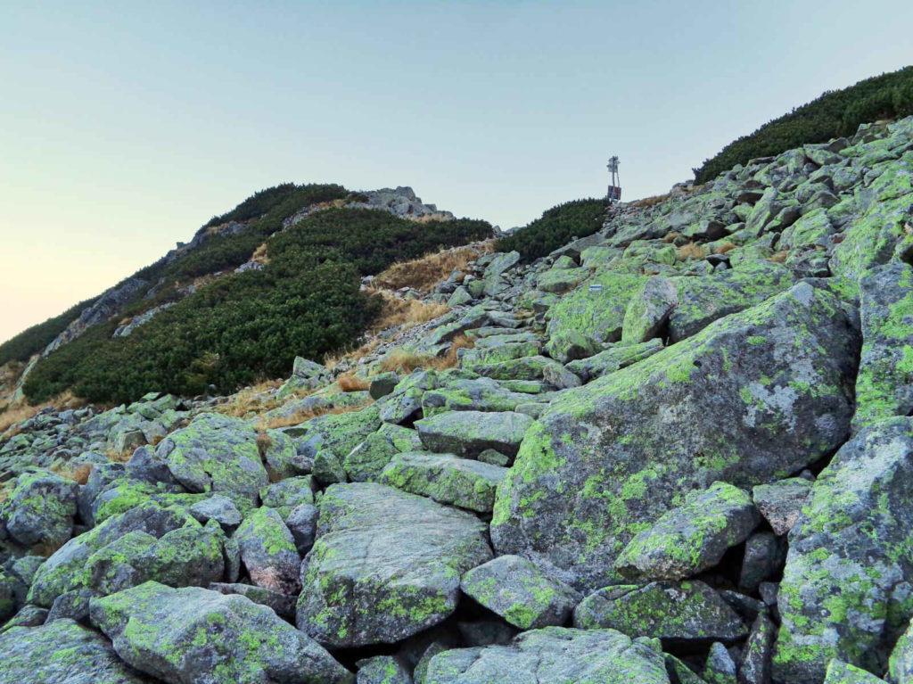 Podejście na Przełęcz Karb