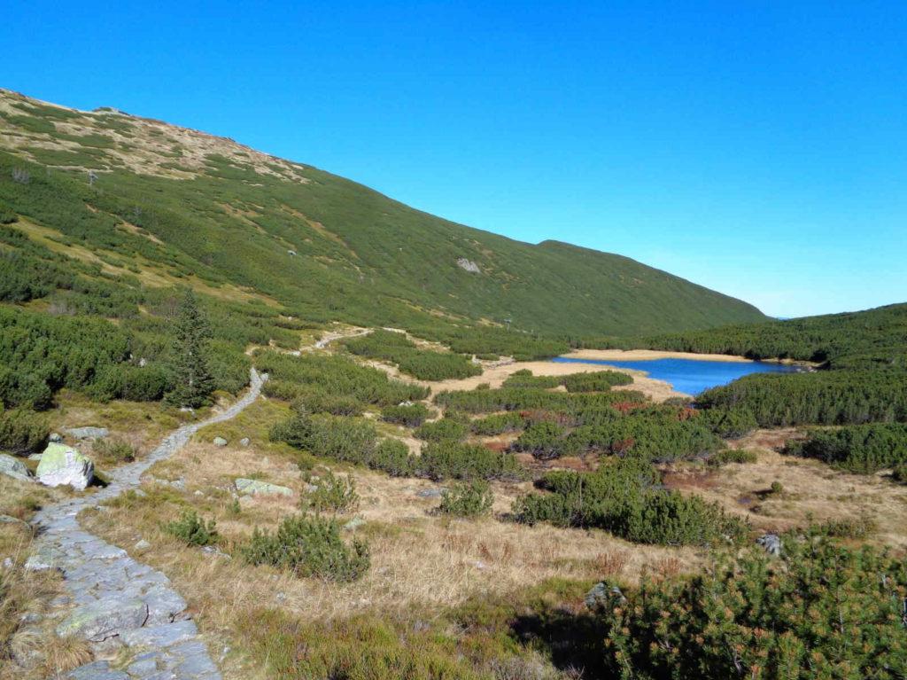 Szlak przez Dolinę Zieloną Gąsienicową