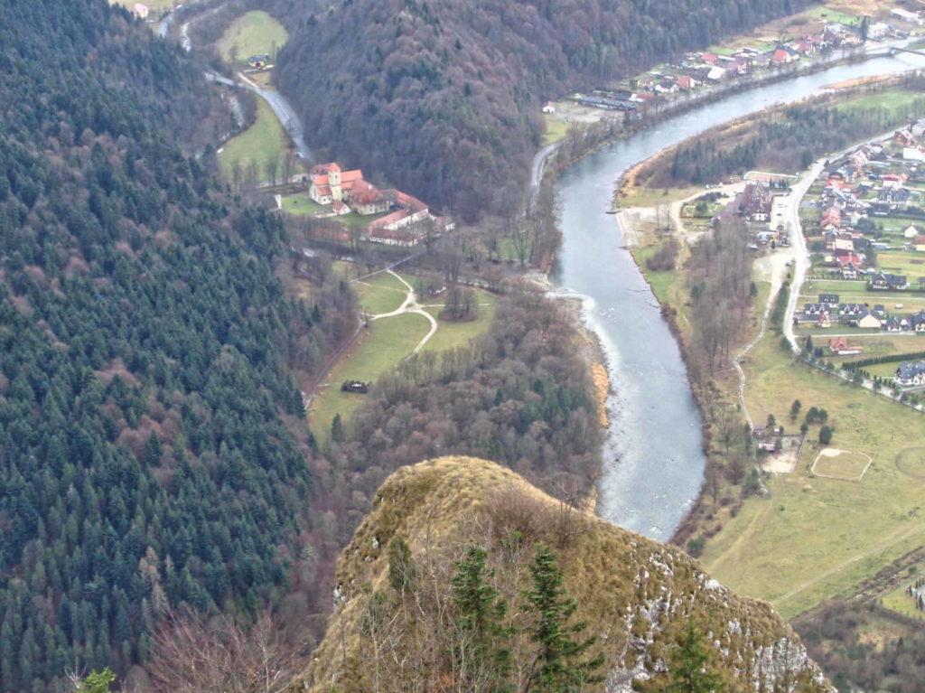 Trzy Korony, Czerwony Klasztor