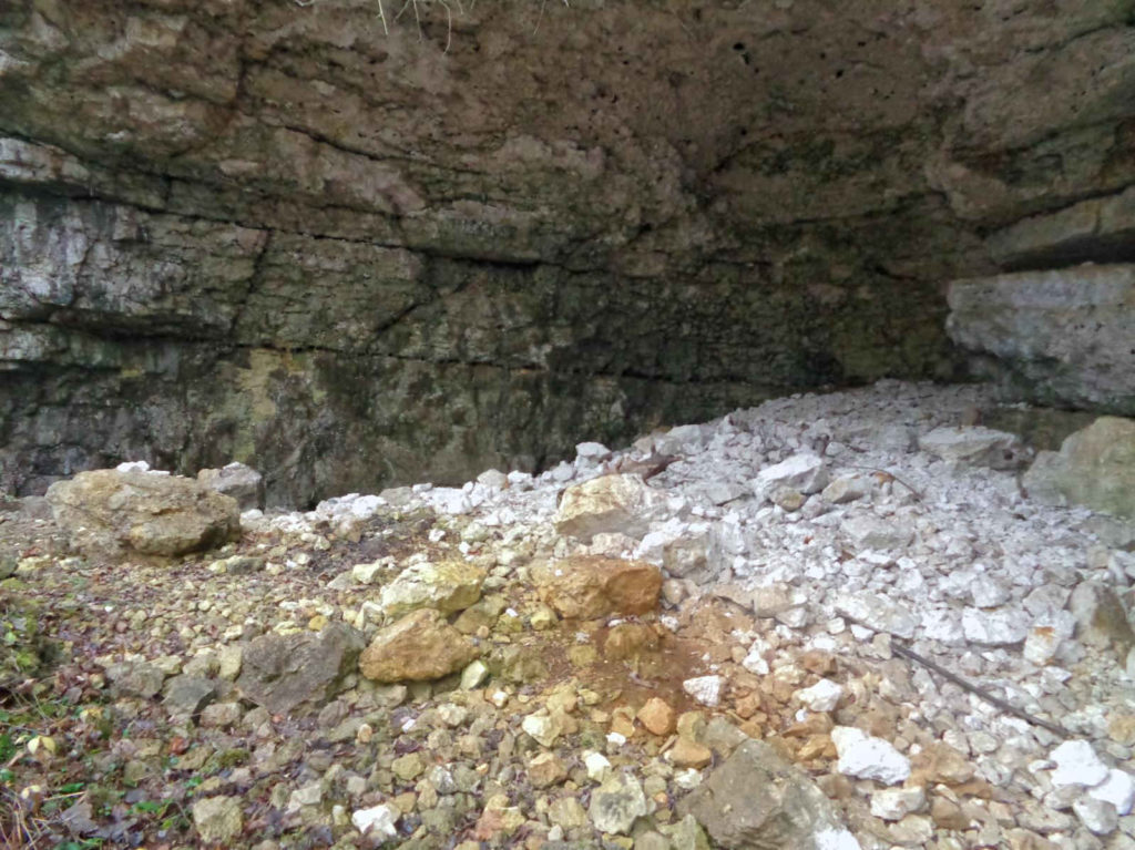 Jaskinia Jasna, obryw