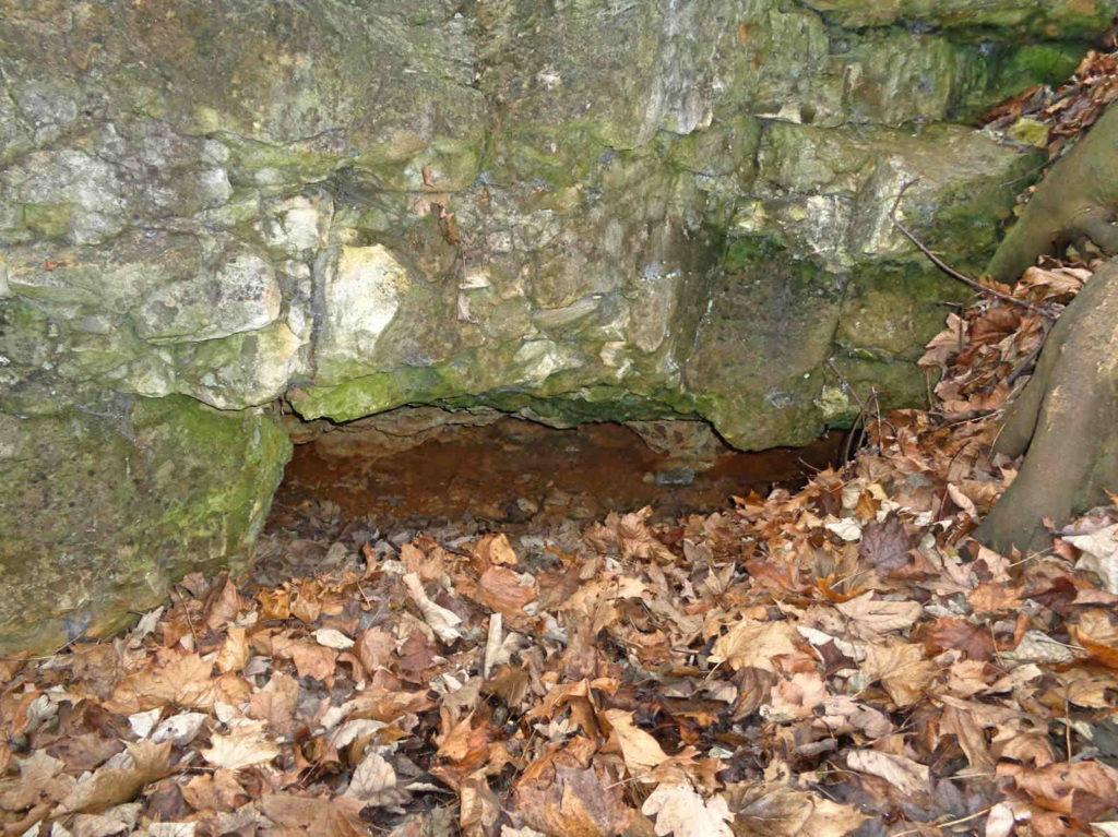 Jaskinia Wywiew, Zakrzówek
