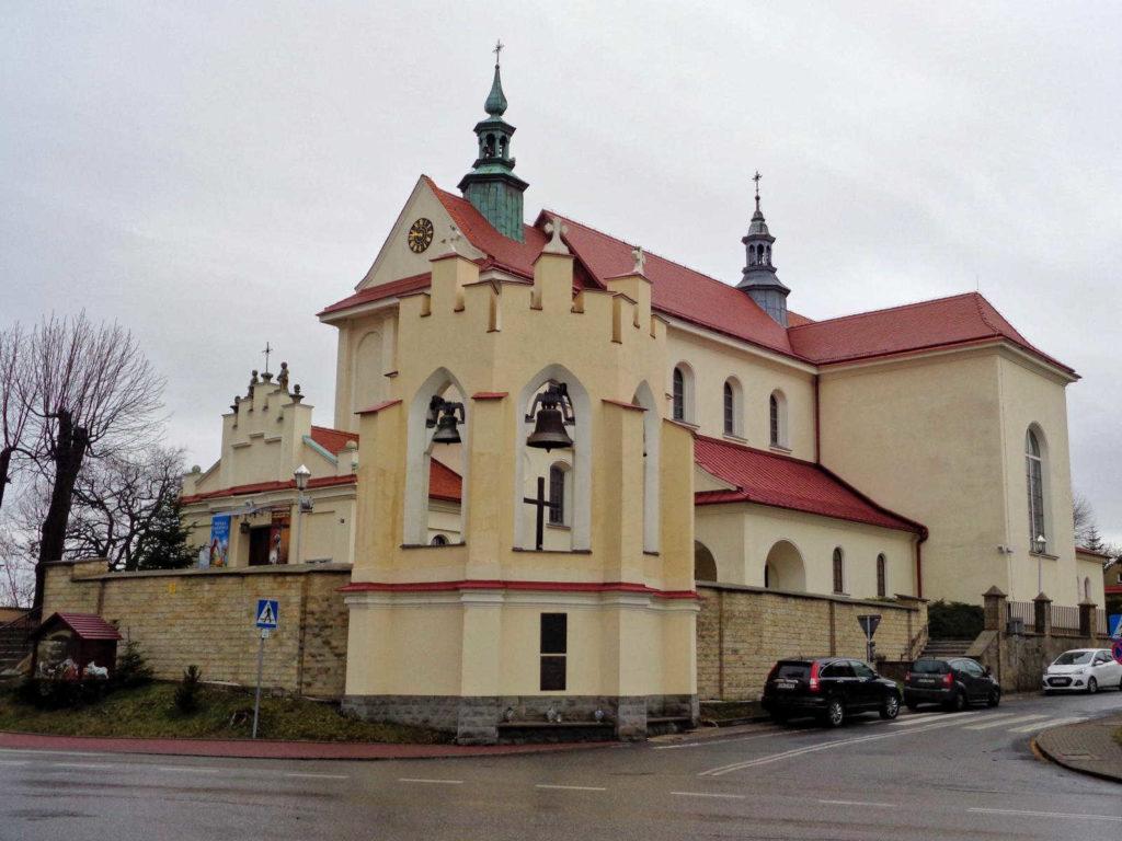 Mogilany, kościół