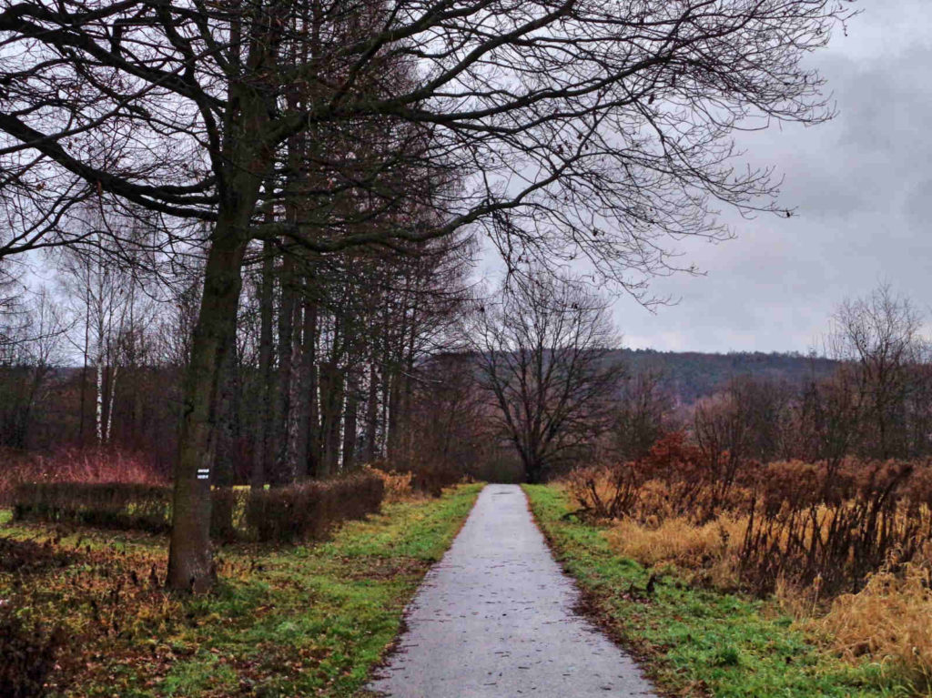 Radziszów, zielony szlak