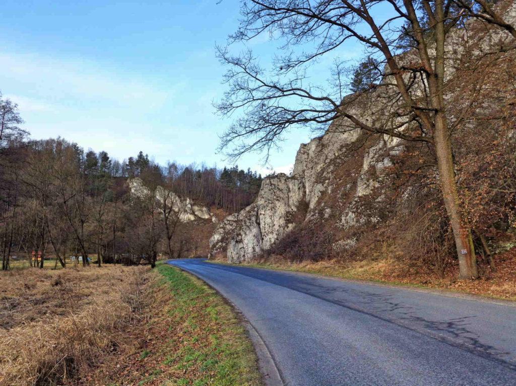 Ojcowski Park Narodowy, czerwony szlak