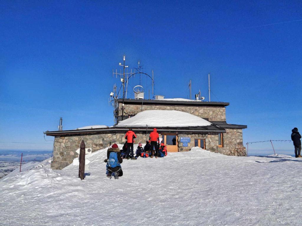 Kasprowy Wierch, stacja meteo