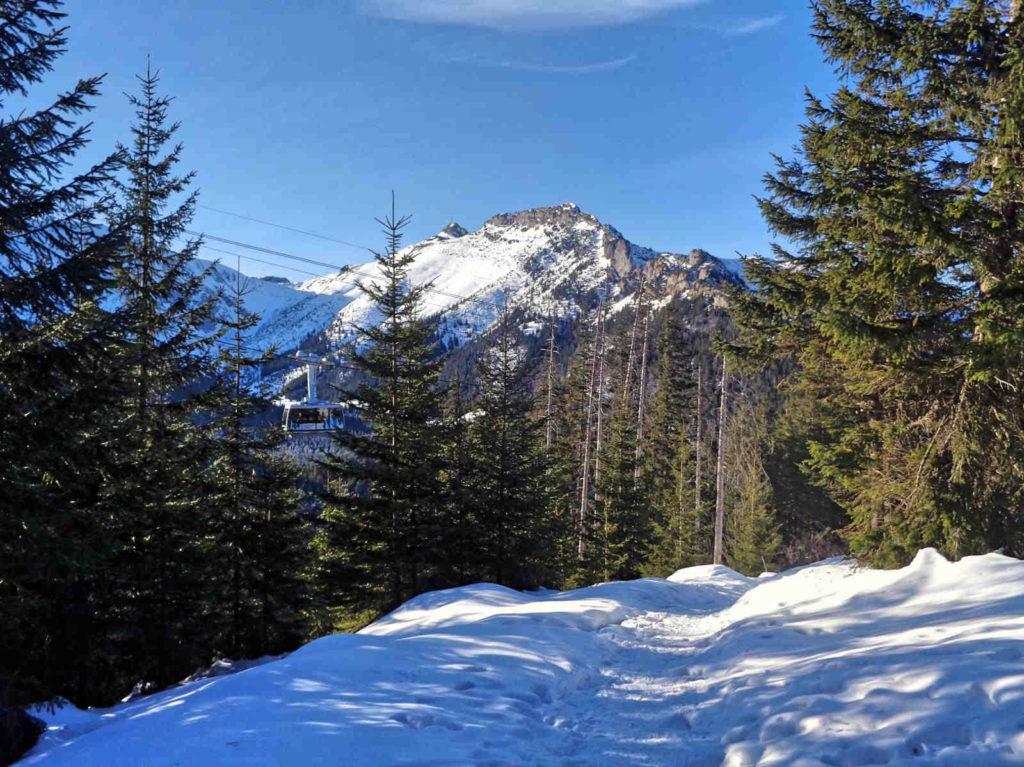 Kasprowy Wierch w zimowych warunkach