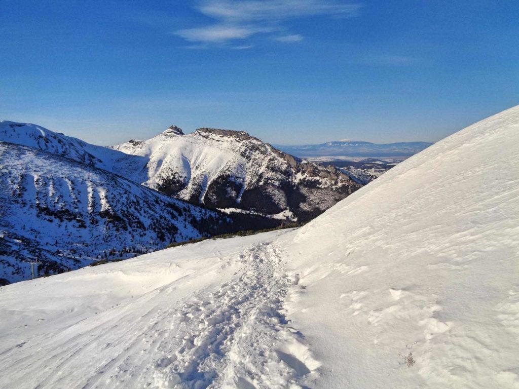 Kasprowy Wierch, wejście w zimie