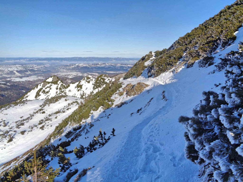 Kasprowy Wierch, wejście zimą