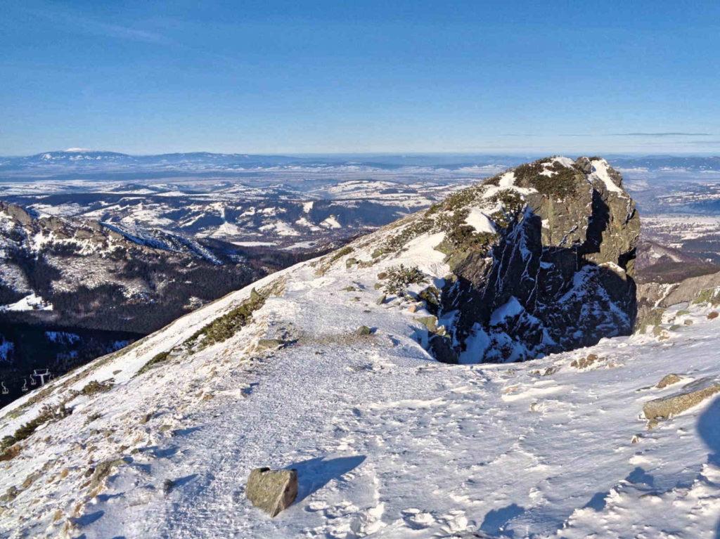 Kasprowy Wierch, wejście zimowe