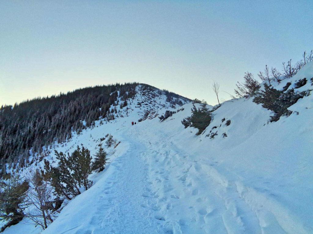 Niebieski szlak przez Boczań