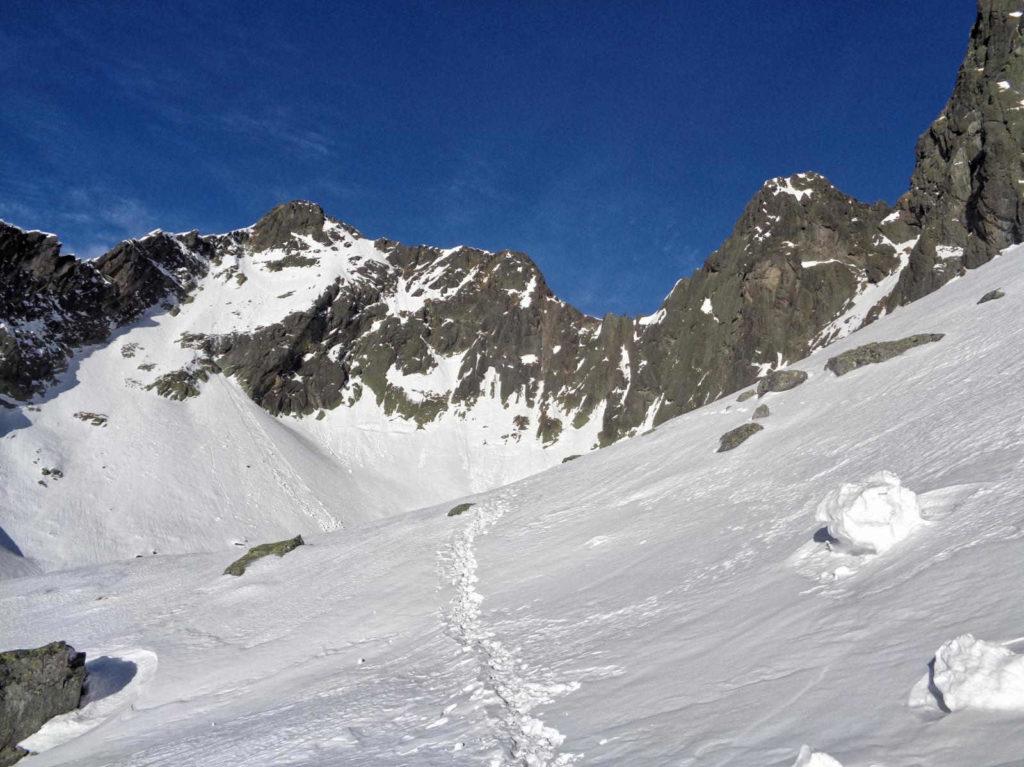 Kozia Dolinka w zimie