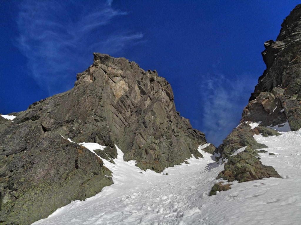 Kozia Przełęcz, podejście w zimie