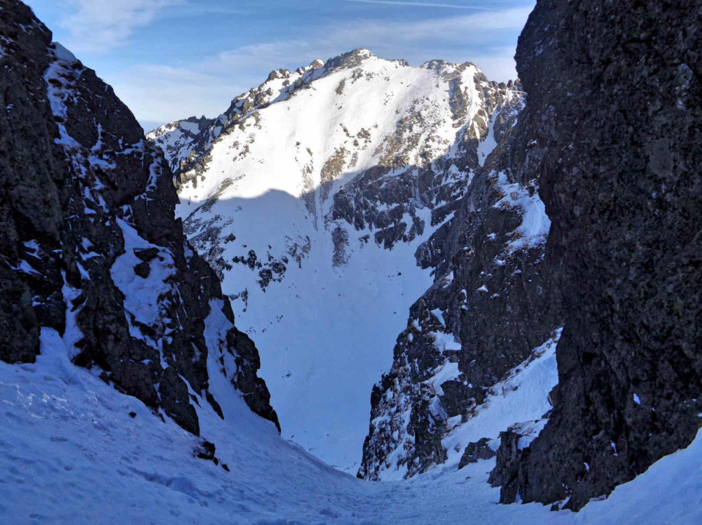 Kozia Przełęcz w zimie