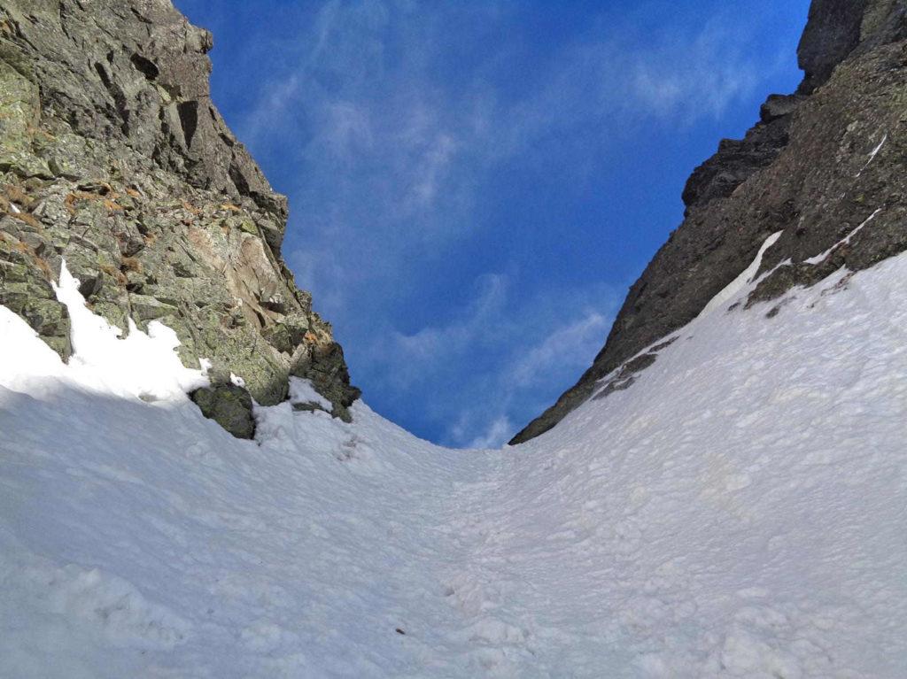 Kozia Przełęcz z D5S zimą