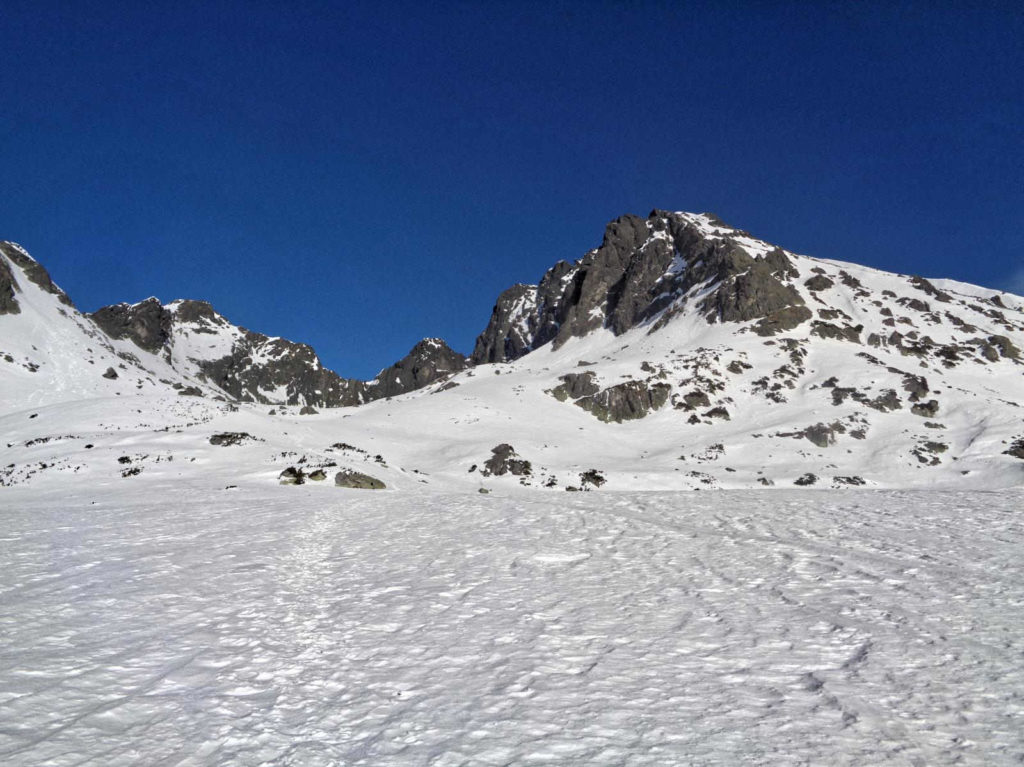Szlak do Pustej Dolinki zimą