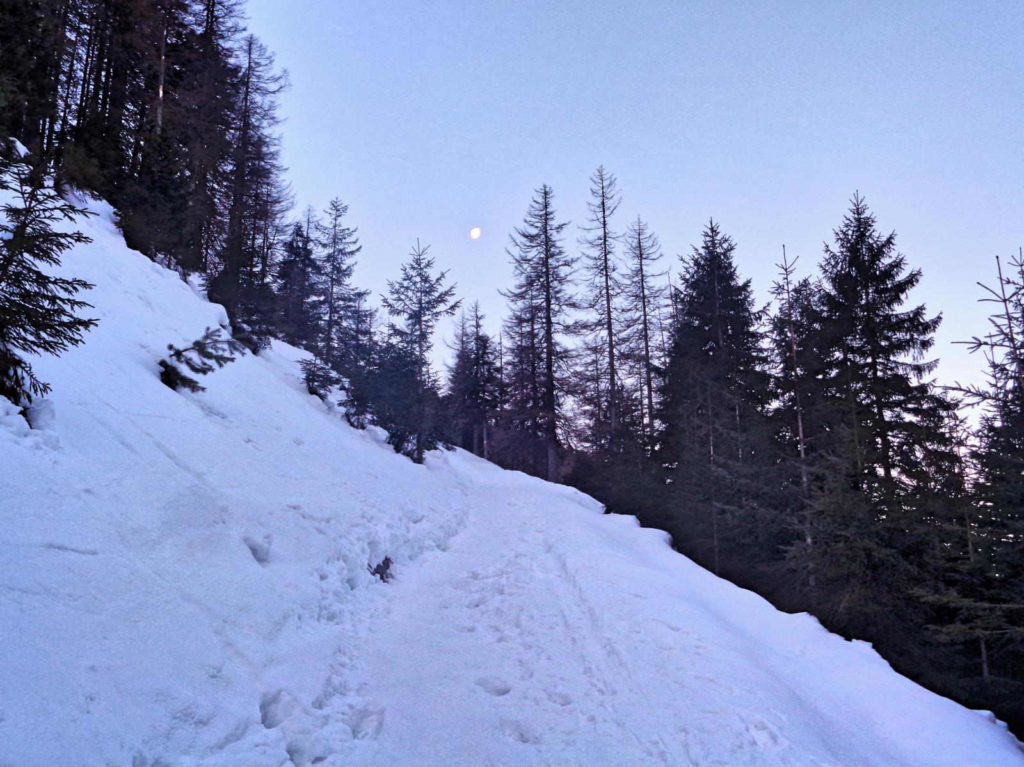 Dolina Jaworzynka, podejście