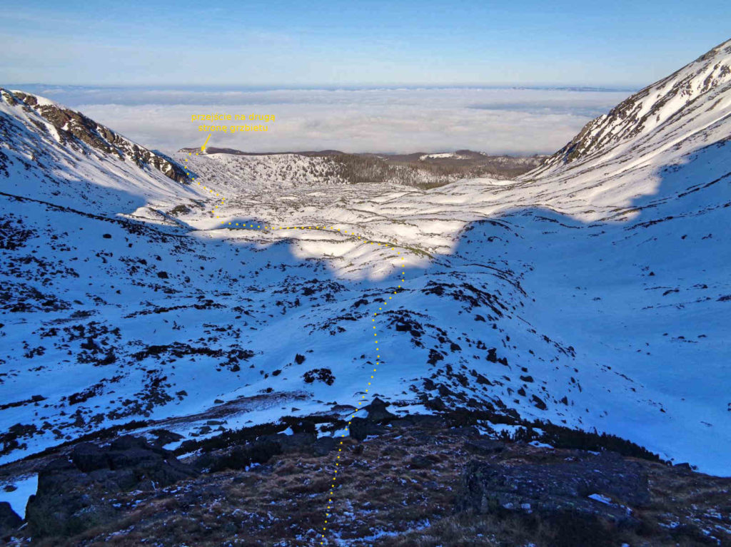 Dolina Pańszczycy zimą